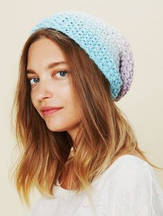 Knit Ombre Beanie