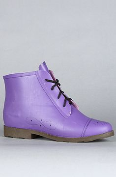 The Rainy Day Boot in Purple by Jeffrey Campbell at karmaloop.com