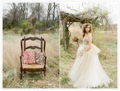 Romantic Fall Wedding Shoot