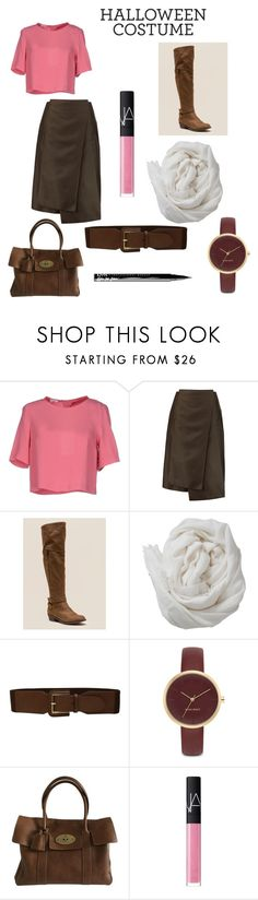 """""""Molly Ringwald's Claire Standish from The Breakfast Club"""" by sanjana-prabhu ❤ liked on Polyvore featuring Patrizia Pepe, Jil Sander, Indigo Road, Brunello Cucinelli, Lauren Ralph Lauren, Nine West, NARS Cosmetics and NYX"""