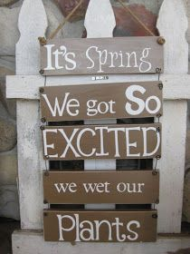 the little green bean: Cute Outdoor Sign-HOW TO!