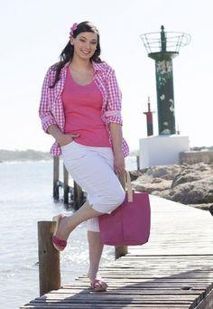 Herrlich frisch im Retro-Look - Mode für Mollige: Die schönsten Trends in XL - bildderfrau