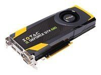 Zotac GeForce GTX680 4GB GDDR5 PCI Express 3.0 HDMI DVI-I DVI-D DisplayPort Dual SLI Ready Graphic Card, ZT-60103-10P by Zotac. $519.99. Experience game-changing performance with the ZOTAC GeForce GTX 680 powered by a powerful new GeForce architecture that redefines smooth, seamless and lifelike gaming. The ZOTAC GeForce GTX 680 raises the performance bar with new NVIDIA GPU Boost technology that maximizes clock speeds on the fly for maximum performance in every gaming ...