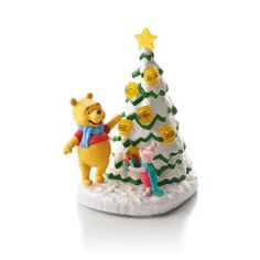 O Hunny Tree - Winnie the Pooh Collection 2013 Hallmark Ornament