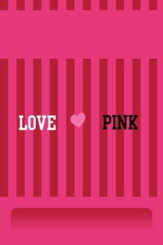 cute victoria secret pink ipod iphone wallpaper by. I Love Pink Wallpaper, Pink Wallpaper Iphone, Tumblr Wallpaper, Girl Wallpaper, Screen Wallpaper, Pink Love, Cute Pink, Victoria Secret Wallpaper, Paper Ipad