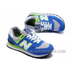 Discount Mens New Balance ML574YCB Blue Green Shoes ae38d0e8e