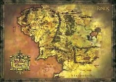 (24x36) Lord of the Rings (Map of Middle Earth) Art Poster Print by Poster Revolution, http://www.amazon.com/dp/B000MUJCDY/ref=cm_sw_r_pi_dp_VID9pb1GBWXQ7