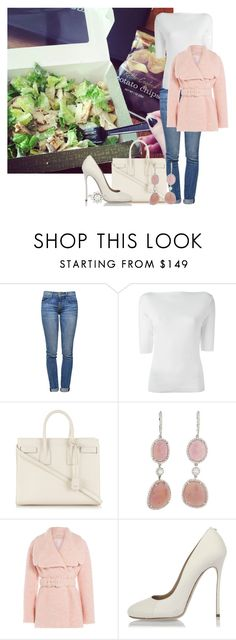 """""""Bez naslova #6039"""" by unorthodox-1 ❤ liked on Polyvore featuring Current/Elliott, Ralph Lauren Black Label, Yves Saint Laurent, Emilia Wickstead, Dsquared2 and Cartier"""