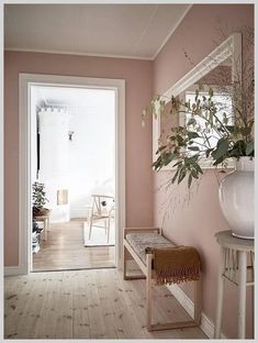 30 Beautiful Pink Living Room Decor Ideas - Home Accents living room Living Room Decor, Bedroom Decor, Bedroom Colors, Bedroom Ideas, Pink Room, Blush Pink Living Room, Pink Living Rooms, Dusty Pink Bedroom, Rose Bedroom