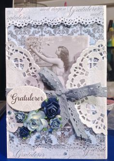 Card for Mothersday. Everything is from papirdesign