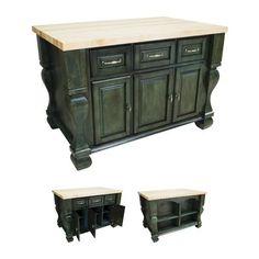 Lyn Design ISL01 Kitchen Island - Home Furniture Showroom