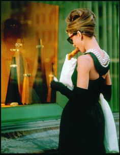 If one could be in love with a movie, it would be safe to say that I'm in love with Breakfast at Tiffany's.