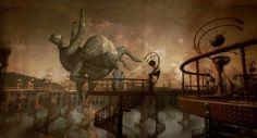 giants of Mirrormask