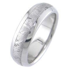 For him? Meteorite Wedding band