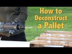 The Beginner Guide to Pallet Projects