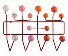 Appendiabiti da parete Hang It All rosso - 51x37x17 cm