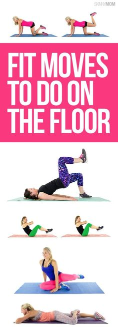 Floor workouts that will work every muscle!