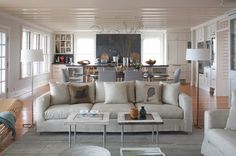 I got Coastal Style with HOUZZ style quiz.  (?)  I do like this look, but not sure if it's my main look I LOVE.  Thinking more romantic or rustic elegance style would be more accurate.  Beach Style Living Room Beach Style Living Room