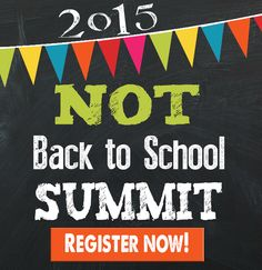 The 2015 Not Back to School Summit is happening NOW!!! Don't wait to Register! HECOA is giving away TONS of FREE homeschool gear & other prizes to early registrants! This is a FREE conference and completely online! Last year's conference CHANGED lives! Don't miss out!