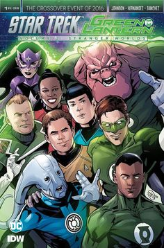Angel Hernandez - Green Lantern Corps and Stra Trek
