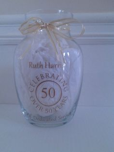 50th Anniversary Gift Great for Weddings by SassyLittleDesigns, $12.00