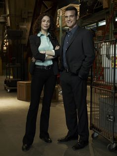 Warehouse 13 S2 Cast Promotional Photo