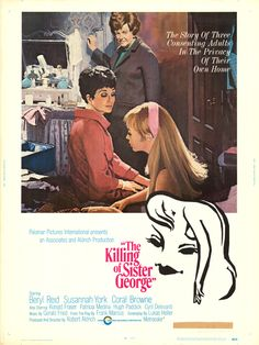 Robert Aldrich's The Killing of Sister George 1968 starring Beryl Reid, Susannah York and Coral Browne -