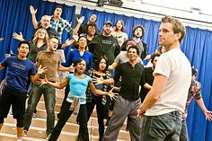 Jesus Christ Superstar – rehearsal