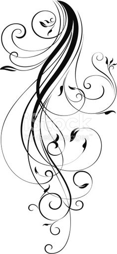 A Trendy fashion scroll with elegant curls. All the scrolls are ungrouped for easy colour change.Saved in formats , AI ver 12, EPS ver 8, Corel Draw ver 8, PDF, and High Res Jpeg