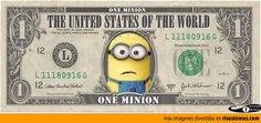 One Minion. La moneda de los Minions.