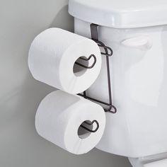 Evideco Freestanding Toilet Tissue Paper Roll Holder Reserve 3 Rolls ...