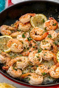 Lemon, garlic, and shrimp go hand in hand. Get the recipe fromDelish.