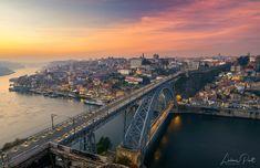 "Dom Luis Bridge at sunset... - If you enjoy my work, please follow me on <a href=""https://www.facebook.com/DaLiu80"">Facebook </a> and <a href=""https://www.instagram.com/_daliu_/"">Instagram</a>, thank you!"