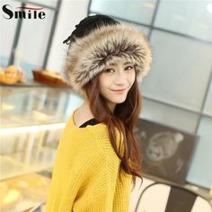 9b34be75c2f Fashion Women s Winter Warm Scarf Beanie Hat Fur Knitted Beanies