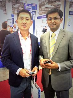 Meet the CEO of @WinjitTech India's leading software development company at @communicasia today ! @abhijitjunagade