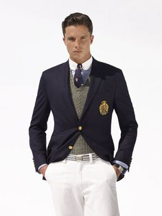 Polo Ralph Lauren Spring/Summer 2009. Thankfully, the vast majority of Polo Ralph Lauren never goes out of style.