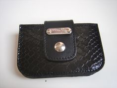 Credit card holder in Phyton by La Bella Dolly Firenze…. made by the finest craftsmen in Florence (Italy)