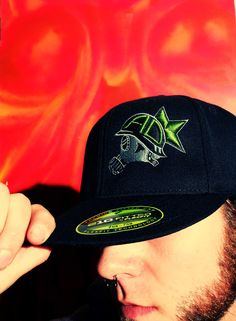 AD Logo Hat modeled by the mode and means of AD - Dan Conerd