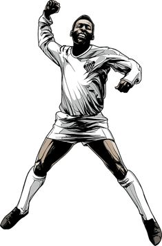 Pele- Recent Works by Cristiano Siqueira, via Behance Football Icon, Football Art, Fifa, Soccer Art, Soccer Quotes, Football Wallpaper, Football Pictures, Soccer World, Sports Figures