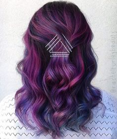 Gorgeous Options for Purple Ombre Hair