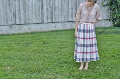 size-up a pleated skirt tutorial