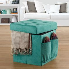 """Would love three of these with two or three trays to put on top and make our """"coffee table"""""""