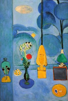 by Henri Matisse. The Blue Window