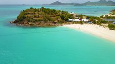 Canadians are flocking to Antigua and Barbuda, according to recently-released numbers from the Caribbean Tourism Organization. Best Honeymoon Destinations, Romantic Destinations, Tourism Marketing, Crystal Clear Water, Paradise Island, Island Resort, White Sand Beach, West Indies, Countries Of The World