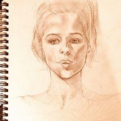 Charlotte Rampling sketch
