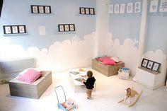 Attrape nuages - Librairie jeunesse et ateliers créatifs - 19 rue Pétion 75 011 Paris Métro Voltaire Paris 11e, Rue, Toddler Bed, Baby, Furniture, Home Decor, Clouds, Youth, Atelier