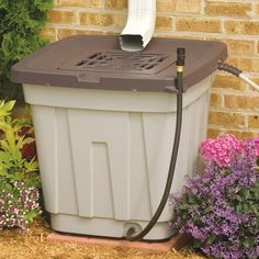 "Rain Barrel (Light Taupe/Mocha) (26.1""H x 29.2""W x 28.6""D)"