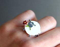 anillo miniatura – Etsy ES