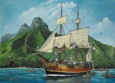 Mystery of HMS Bounty Mutiny   Annoyz View