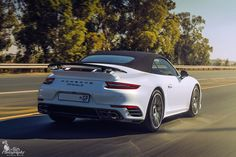 Superb rolling shot of this Porsche 991.2 Turbo S Cabriolet by @rollz20  #ExoticSpotSA #Zero2Turbo #SouthAfrica #Porsche #TurboS #911 #Cabriolet